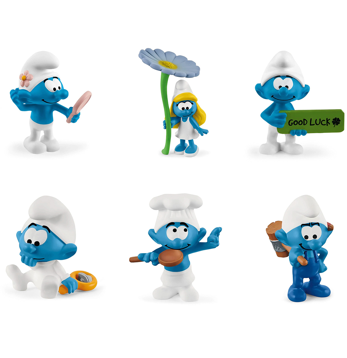 The Smurfs figures