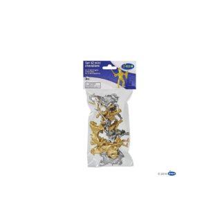 Set of 12 Papo Mini Knights (33024) | LeVida Toys