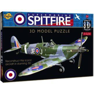 Spitfire Build-It 3D Puzzle | LeVida Toys