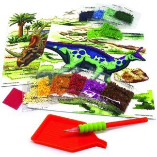 Dinosart Dazzle by Number | LeVida Toys