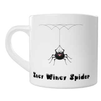 Kids Incy Wincy Spider Mug - Customisable with your name | LeVida Toys