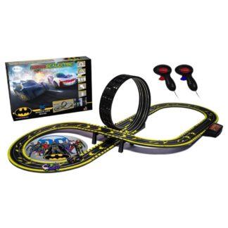 Micro Scalextric Batman vs Joker Set Battery Powered Race Set