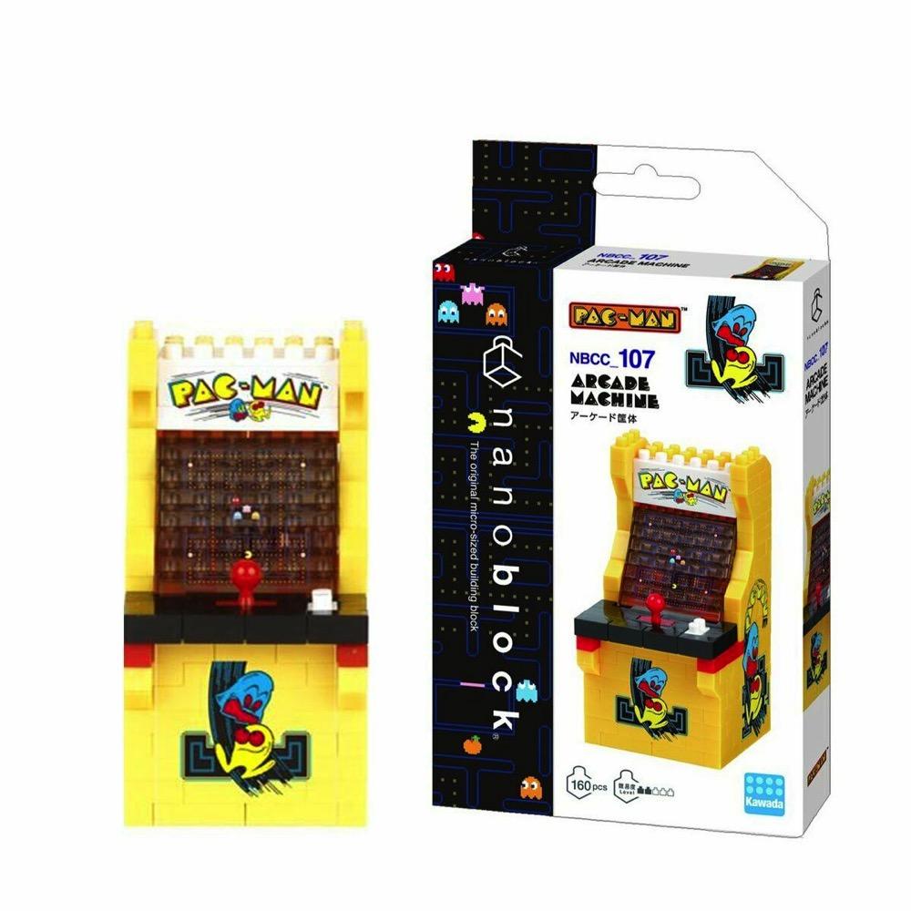 Nanoblock Mini Collection Pac Man Arcade Cabinet - LeVida Toys