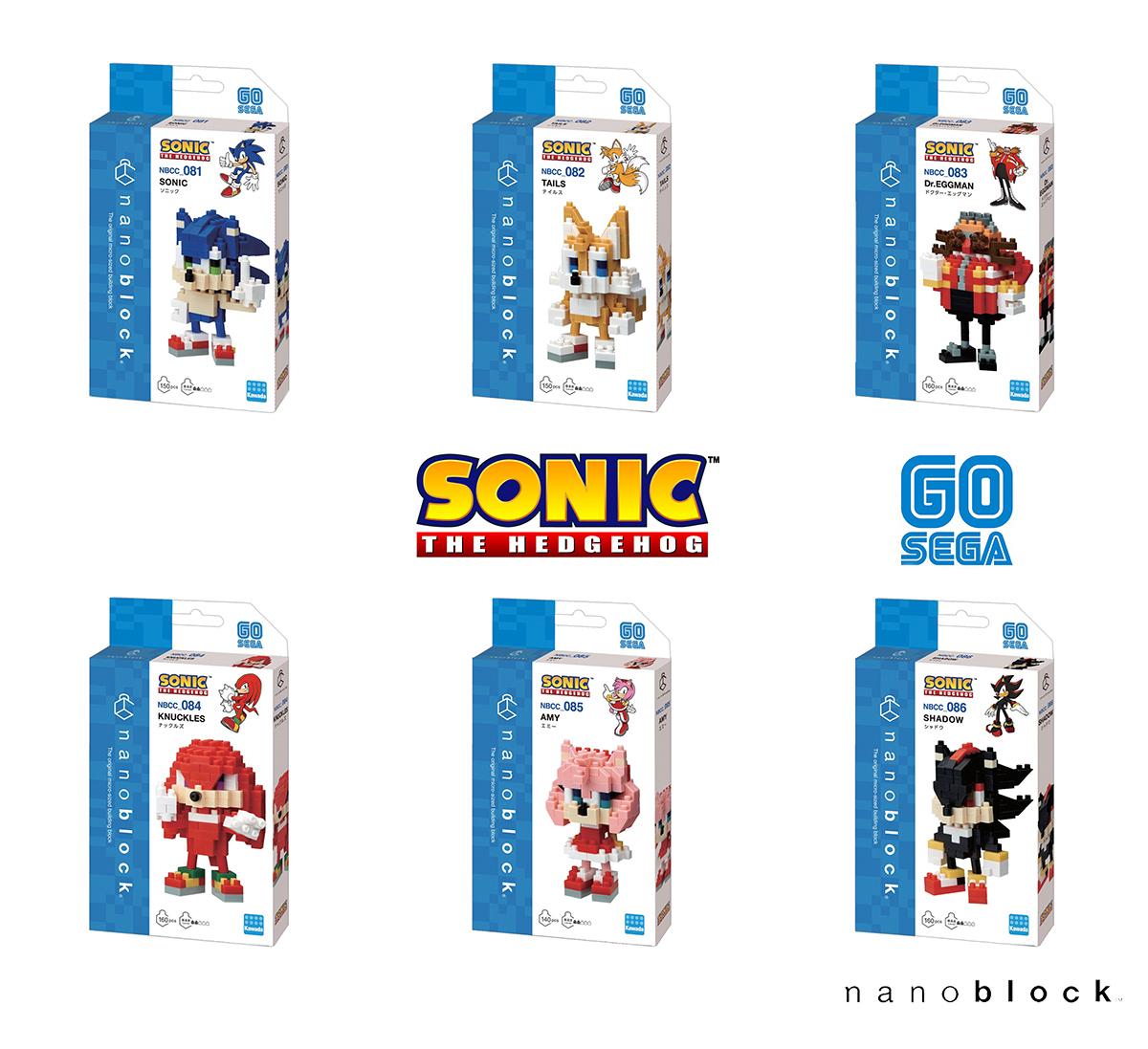 Nanoblock Sonic the Hedgehog Collection